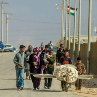 Photo of Syrian refugees by Kevin Cook, World Vision.